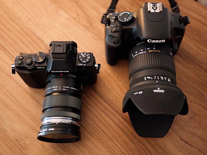 e-m5_vs_450D