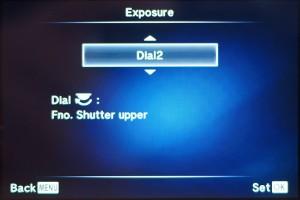 "(3) ""Dial 2"" auswählen"