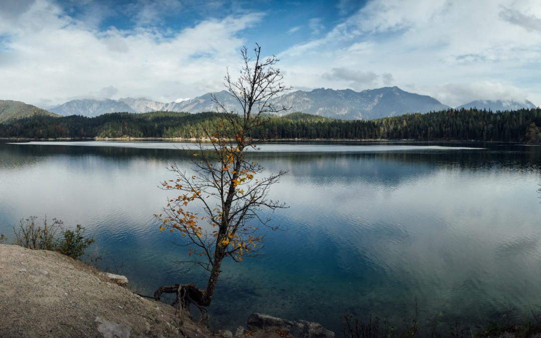 Eibsee in Grainau